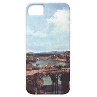 川Po、トゥーリン上の古い橋の眺め iPhone SE/5/5s ケース