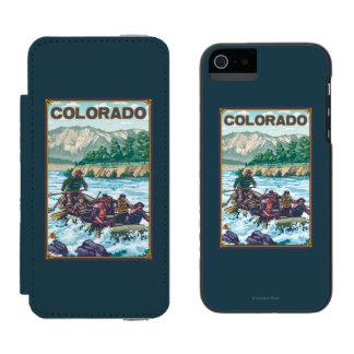 川RaftingColorado iPhone SE/5/5sウォレットケース