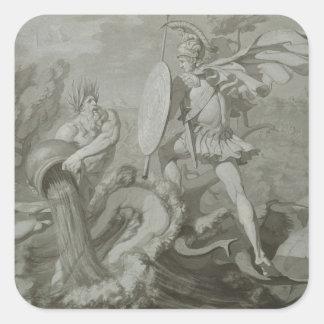 川Scamanderを持つアキレスの戦い スクエアシール