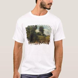 川Sidの眺め、Sidmouthの近くで、c.1852 (油 Tシャツ