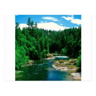 川Umpquaダグラス郡オレゴン ポストカード