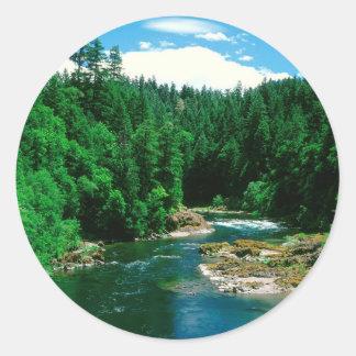 川Umpquaダグラス郡オレゴン ラウンドシール