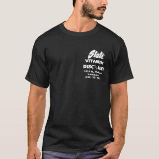 州のビタミンのディスカウントストア Tシャツ