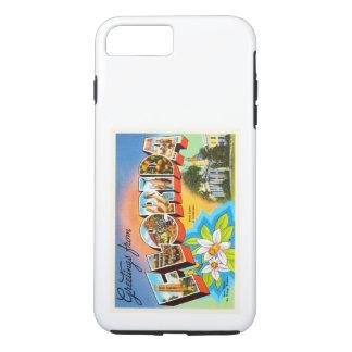 州のフロリダFLの古いヴィンテージ旅行記念品 iPhone 8 PLUS/7 PLUSケース