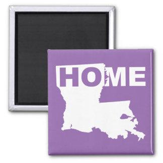州の冷蔵庫用マグネットからのルイジアナの家の遠くに マグネット