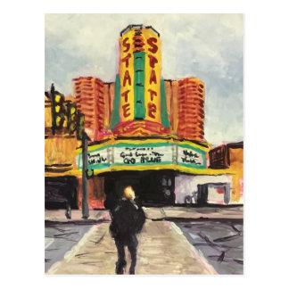 州の劇場アナーバー ポストカード
