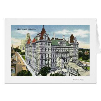 州の国会議事堂の建物の外観# カード