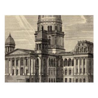 州の国会議事堂の建物、病気スプリングフィールド ポストカード