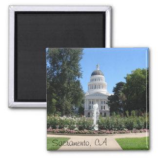 州の国会議事堂、サクラメント、カリフォルニア マグネット