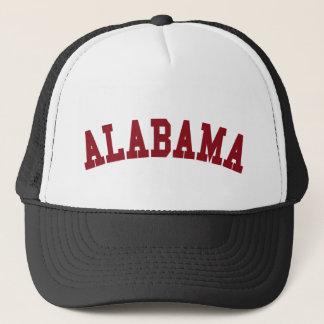 州の精神: アラバマのトラック運転手の帽子 キャップ