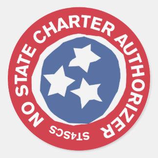 州チャーターのAuthorizerのステッカー無し ラウンドシール