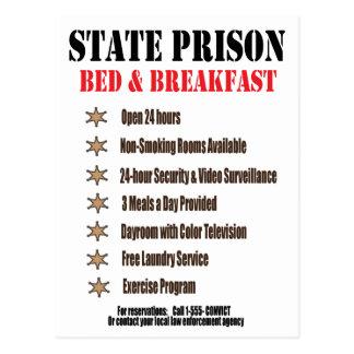 州刑務所のインの郵便はがき ポストカード