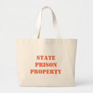 州刑務所の特性 ラージトートバッグ