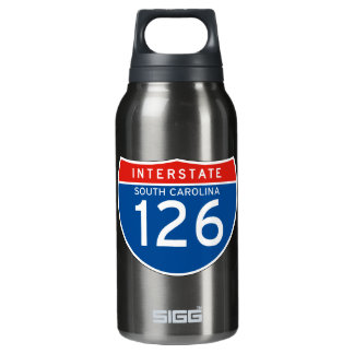 州連帯の印126 -サウスカロライナ 断熱ウォーターボトル