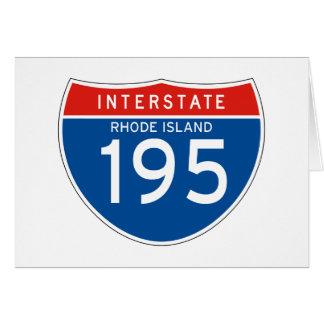 州連帯の印195 -ロードアイランド カード