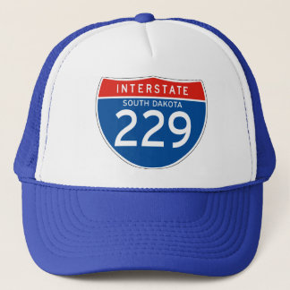 州連帯の印229 -サウスダコタ キャップ