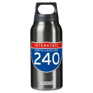 州連帯の印240 -ノースカロライナ 断熱ウォーターボトル