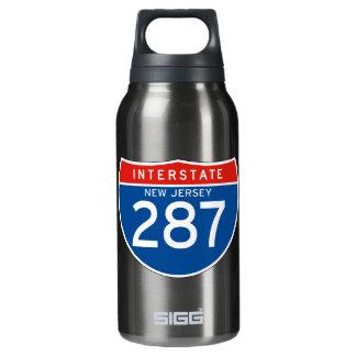 州連帯の印287 -ニュージャージー 断熱ウォーターボトル