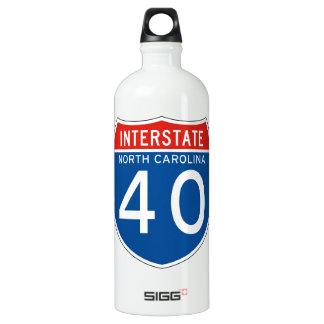 州連帯の印40 -ノースカロライナ ウォーターボトル