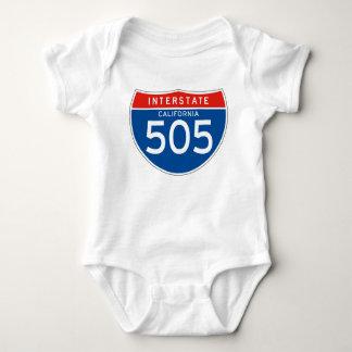 州連帯の印505 -カリフォルニア ベビーボディスーツ