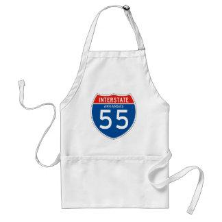 州連帯の印55 -アーカンソー スタンダードエプロン