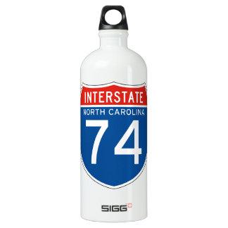 州連帯の印74 -ノースカロライナ ウォーターボトル