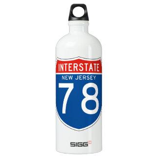 州連帯の印78 -ニュージャージー ウォーターボトル