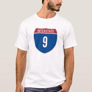 州連帯の9 Tシャツ