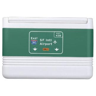 州連帯サンフランシスコカリフォルニアSFO空港I-380 E - IGLOO クーラーボックス