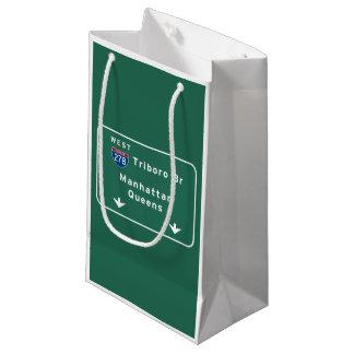 州連帯NYCニューヨークシティTriboroのBrマンハッタン スモールペーパーバッグ