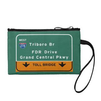 州連帯NYCニューヨークシティTriboroのBr FDRドライブ コインパース