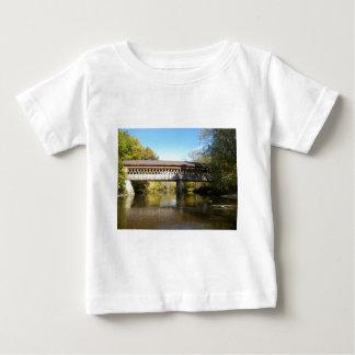 州Rd橋Ashtabula郡オハイオ州 ベビーTシャツ