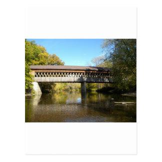 州Rd橋Ashtabula郡オハイオ州 ポストカード