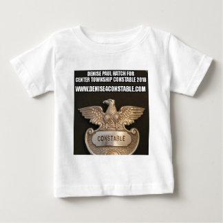 巡査のバッジの服装のためのドニーズ ベビーTシャツ