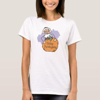 巡礼者の感謝祭の装飾 Tシャツ