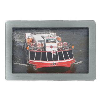 巡航のボート、Thames川、ロンドン 長方形ベルトバックル