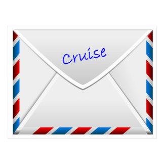 巡航の封筒 ポストカード