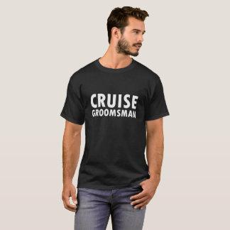 巡航の花婿の付添人 Tシャツ