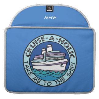 巡航HolicのカスタムなモノグラムのMacBookの袖 MacBook Proスリーブ