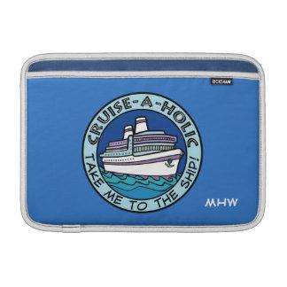 巡航Holicのカスタムなモノグラム装置袖 MacBook スリーブ
