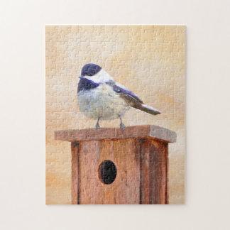 巣箱の《鳥》アメリカゴガラ ジグソーパズル