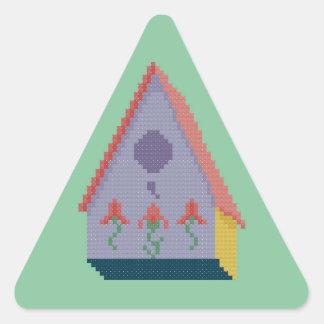 巣箱 三角形シール