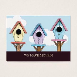巣箱|私達は小型発表を動かしました 名刺