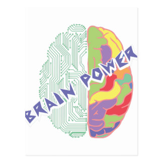 左の頭脳 ポストカード