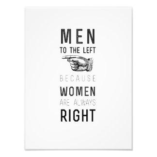 左のcuzの女性への人に常に右の quoteがあります フォトプリント