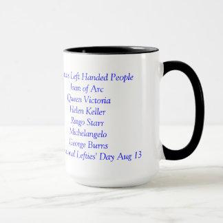 左利きのコーヒー・マグだけ マグカップ