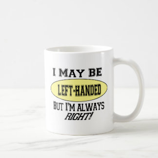 左利きのコーヒー・マグ コーヒーマグカップ