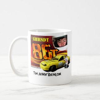 左利きのマグ、トムAhrndt Racing.com コーヒーマグカップ