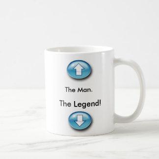 左利きの伝説のマグ コーヒーマグカップ