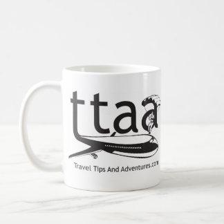 左利きの旅行先端および冒険のマグ- コーヒーマグカップ